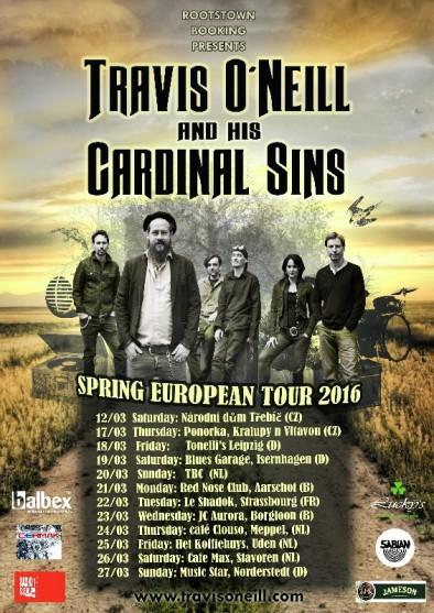 travis tour poster
