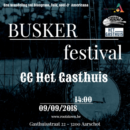 Busker 2018 - Made with PosterMyWall