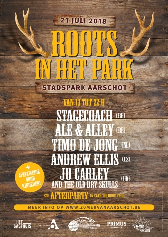 Roots in het park 2018 - Affiche web