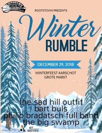 Winter Rumble 2018 - flyer