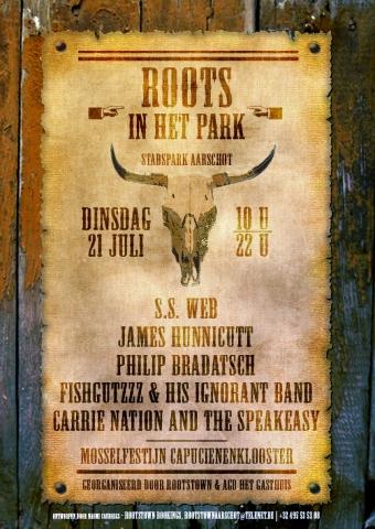 roots in het park affiche