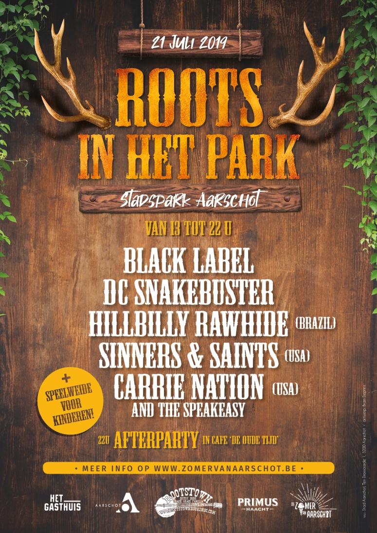 Affiche Roots in het park 2019 (web)