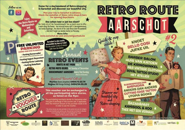 flyer retro route 2019