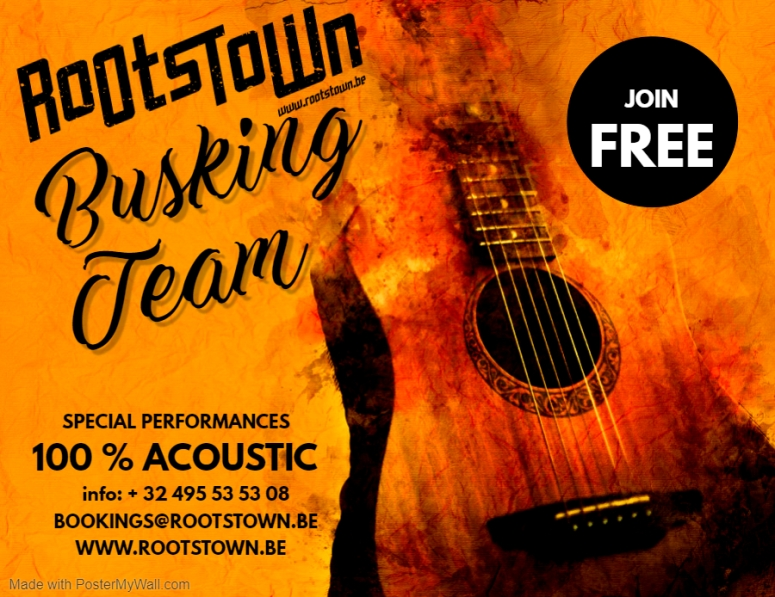 ROOTSTOWN BUSKING TEAM - Made with PosterMyWall