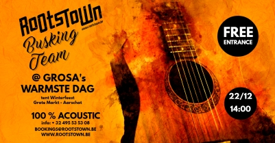 grosas-warmste-dag-rootstown-busking-team-22-12-2019-made-with-postermywall